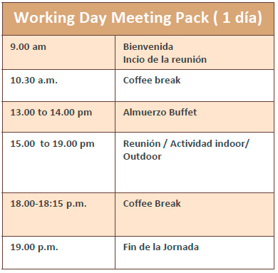 Business Pack 1 Day